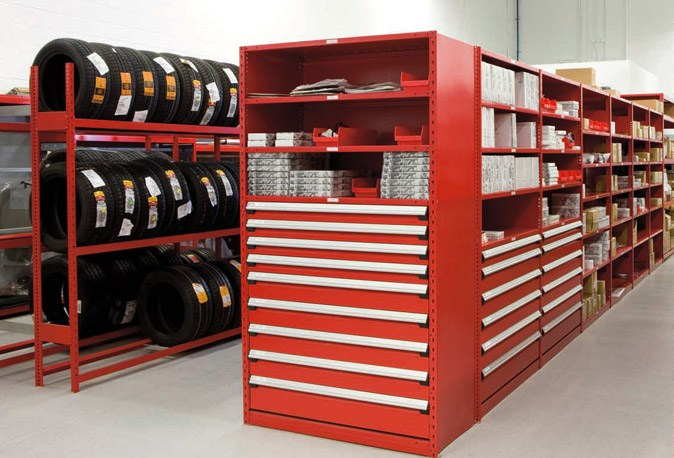 Rousseau – Drawers In Shelving